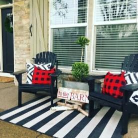 Best Colorful Porch Design Ideas That Looks Cool 49