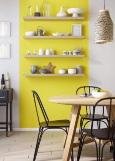 Best Yellow Accent Kitchens Ideas For You 18