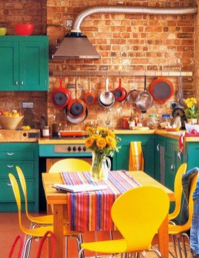 Best Yellow Accent Kitchens Ideas For You 36