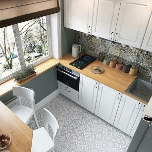 Cool Kitchens Design Ideas For Small Spaces 34