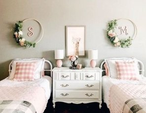 Creative Twin Beds Decoration Ideas For Your Twin Girls 20