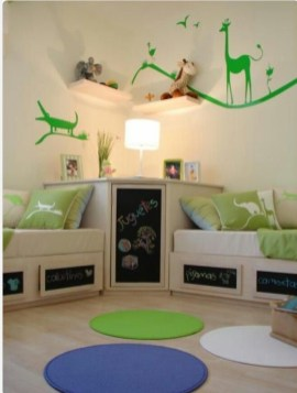 Creative Twin Beds Decoration Ideas For Your Twin Girls 21