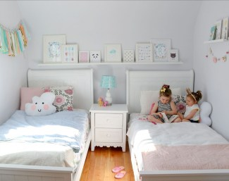Creative Twin Beds Decoration Ideas For Your Twin Girls 37