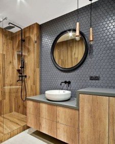 Excellent Wooden Bathroom Designs Ideas To Try 11