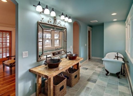Excellent Wooden Bathroom Designs Ideas To Try 18