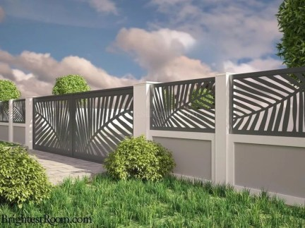 Hottest Fence Design Ideas That You Can Try 07