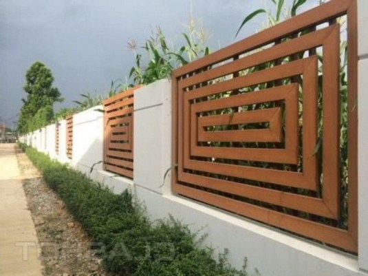 Hottest Fence Design Ideas That You Can Try 50