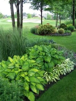 Newest Green Grass Design Ideas For Front Yard Garden 13