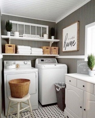 Trendy Small Laundry Room Design Ideas To Try Asap 26