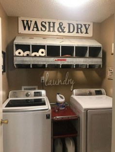 Trendy Small Laundry Room Design Ideas To Try Asap 31