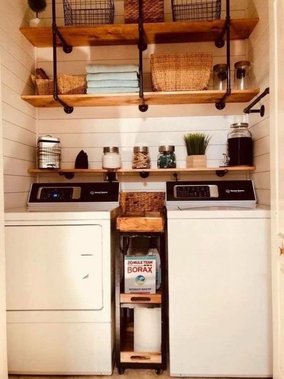 Trendy Small Laundry Room Design Ideas To Try Asap 39