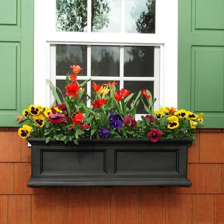 Unique Window Design Ideas With Plant That Make Your Home Cozy More 01
