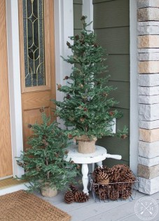 14Rustic Christmas Design Ideas For Your Apartment Décor To Try