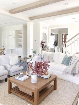 Admiring Living Room Design Ideas To Enjoy The Fall 27