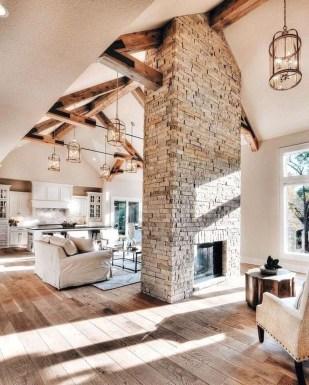 Admiring Living Room Design Ideas To Enjoy The Fall 34