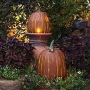 Admiring White And Orange Pumpkin Centerpieces Ideas For Halloween 02