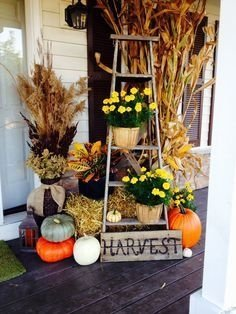 Adorable Fall Diy Decorating Ideas For Patio To Try 01
