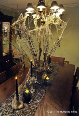 Best Halloween Party Décor Ideas For Dining Table 33