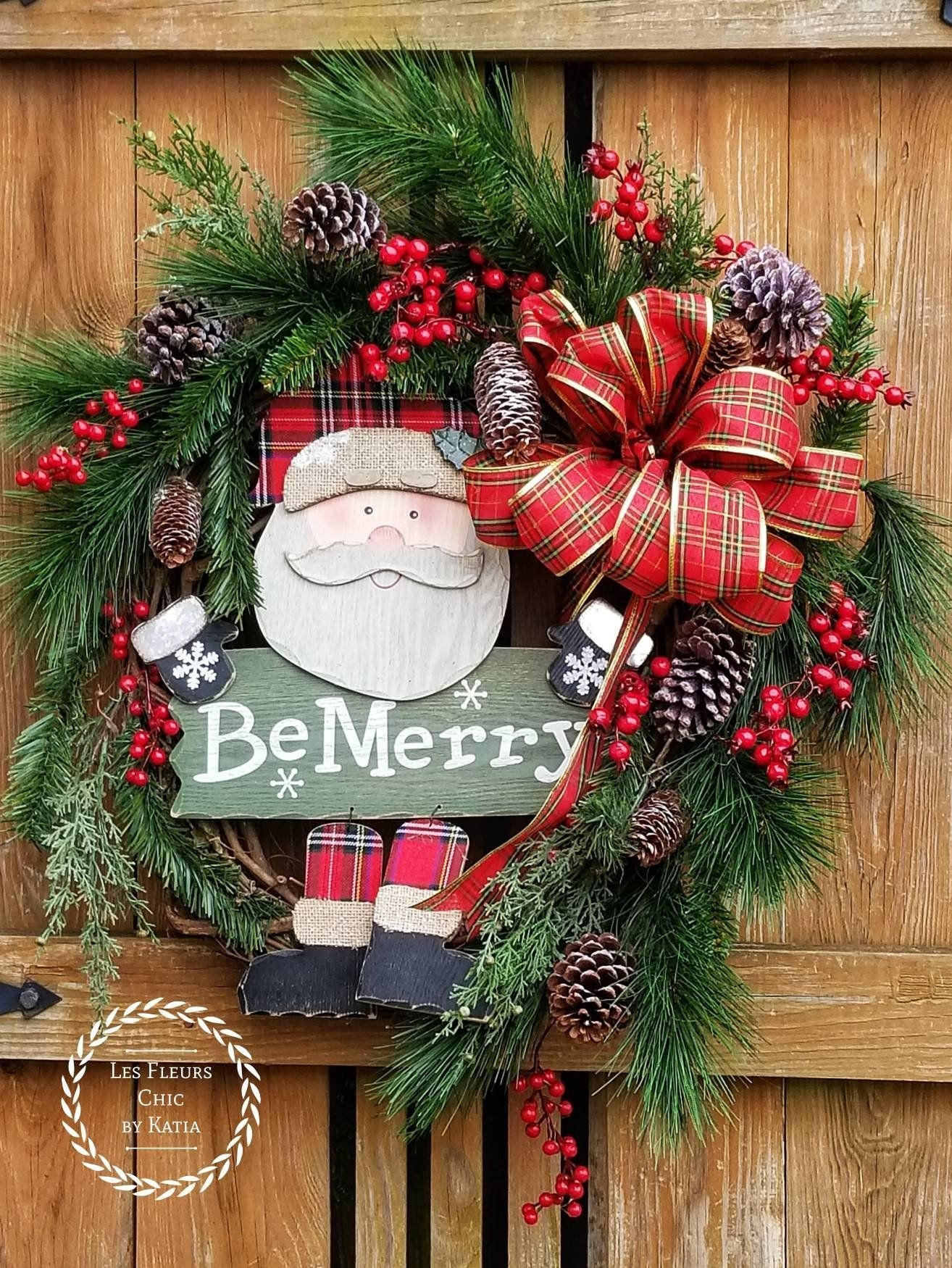 Captivating Diy Front Door Design Ideas For Special Christmas To Try 12