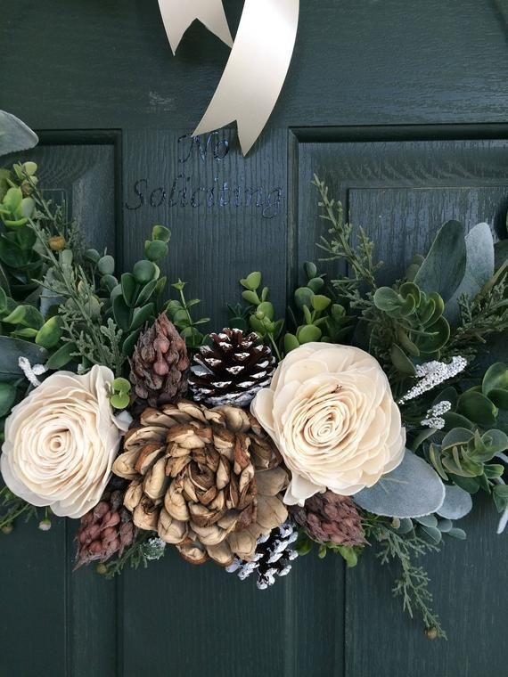 Captivating Diy Front Door Design Ideas For Special Christmas To Try 38