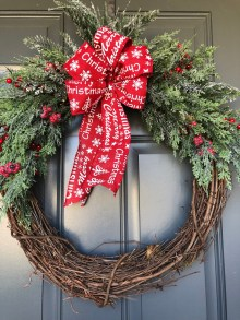Captivating Diy Front Door Design Ideas For Special Christmas To Try 46