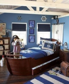 Charming Childrens Bedroom Resembles Design Ideas With A Boat 03