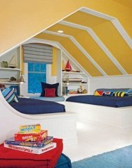 Charming Childrens Bedroom Resembles Design Ideas With A Boat 16