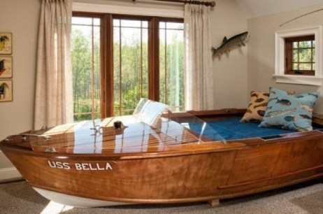 Charming Childrens Bedroom Resembles Design Ideas With A Boat 30