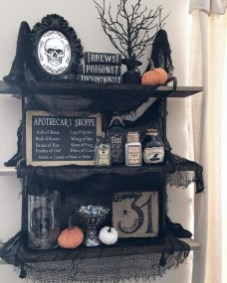 Chic Halloween Home Décor Ideas To Your Inspire You 03