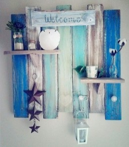 Cute Home Decor Ideas With Wooden Pallet That Looks Amazing 01