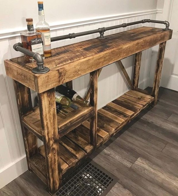 Cute Home Decor Ideas With Wooden Pallet That Looks Amazing 39