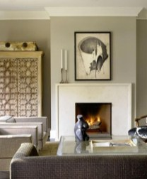 Delicate Living Room Design Ideas With Fireplace To Keep You Warm This Winter 30