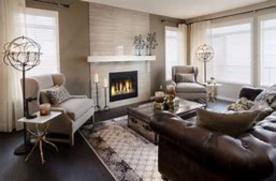 Delicate Living Room Design Ideas With Fireplace To Keep You Warm This Winter 41