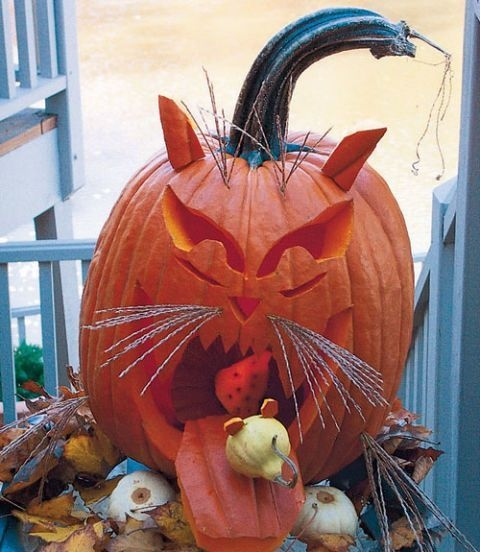 Enchanting Pumpkin Carving Ideas For Halloween In This Year 24