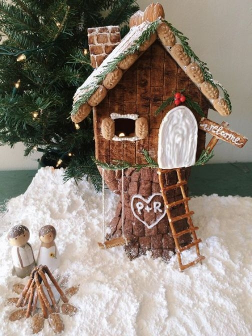 Fantastic Diy Gingerbread House Ideas For Your Décor To Try Asap 23