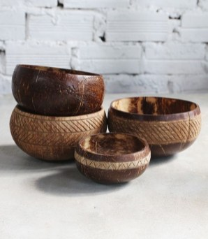 Perfect Diy Coconut Shell Ideas For Everyonen That Simple To Try 14