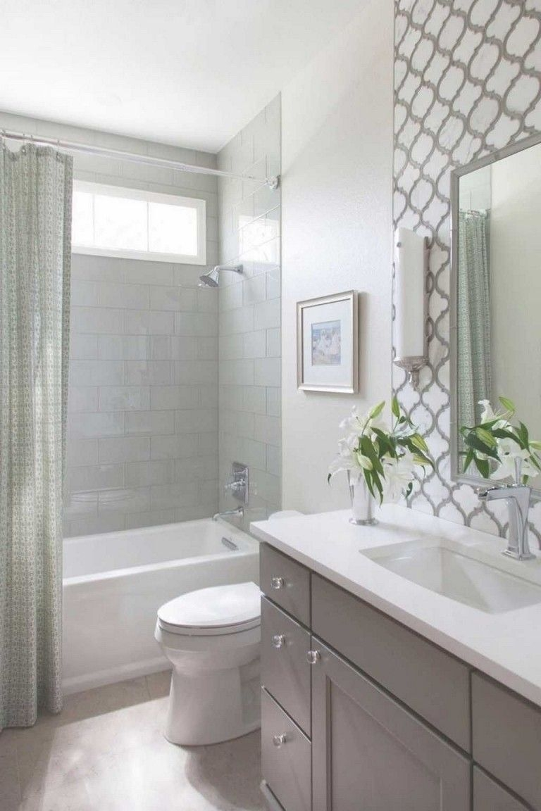 Unrdinary Small Bathroom Design Remodel Ideas With Awesome Tiles To Try 07