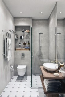 Unrdinary Small Bathroom Design Remodel Ideas With Awesome Tiles To Try 10
