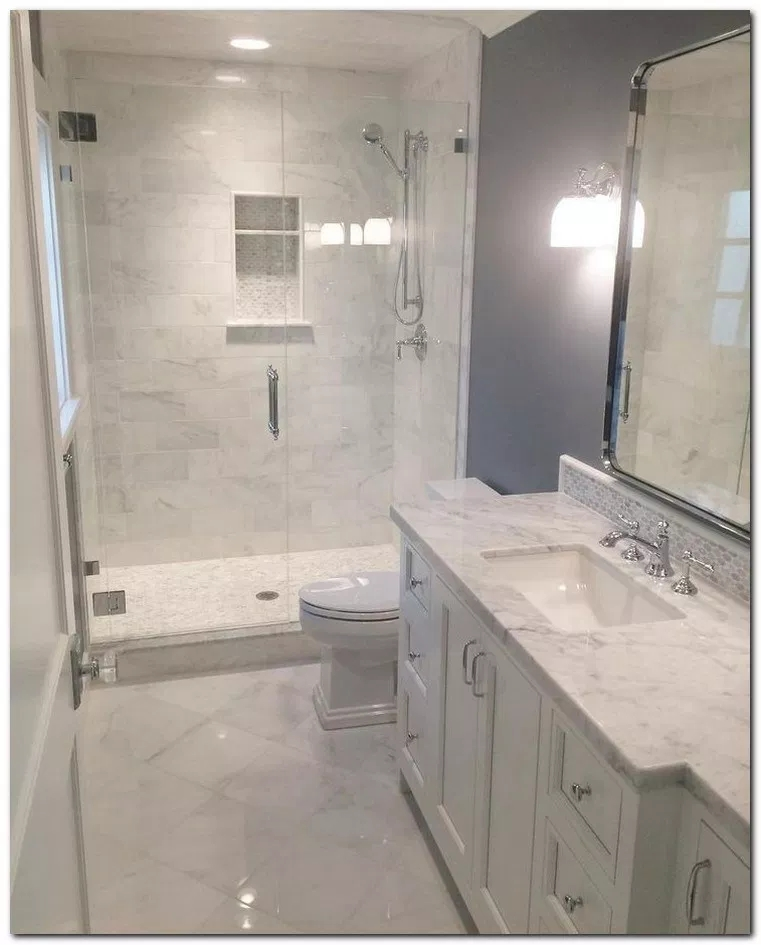 Unrdinary Small Bathroom Design Remodel Ideas With Awesome Tiles To Try 21