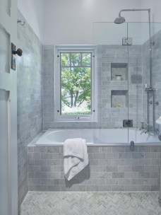 Unrdinary Small Bathroom Design Remodel Ideas With Awesome Tiles To Try 23
