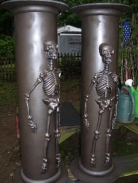 Wonderful Halloween Design Ideas Themed Tomb And Skull Inspire 12