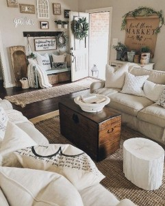 Beautiful Farmhouse Living Room Makeover Decor Ideas To Try Asap 02