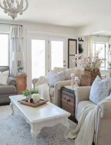 Beautiful Farmhouse Living Room Makeover Decor Ideas To Try Asap 28
