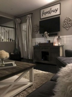 Beautiful Farmhouse Living Room Makeover Decor Ideas To Try Asap 40