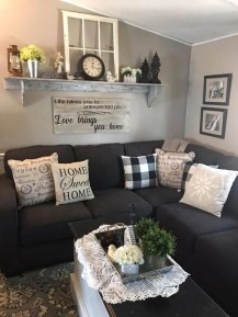 Comfy Farmhouse Living Room Decor Ideas That You Need To See 03