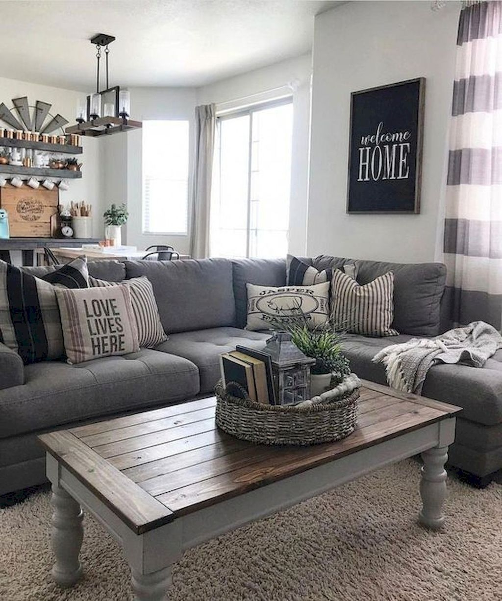 Comfy Farmhouse Living Room Decor Ideas That You Need To See 12