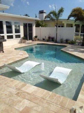 Comfy Pool Decoration Ideas For Your Backyard To Have 08