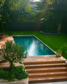 Comfy Pool Decoration Ideas For Your Backyard To Have 21