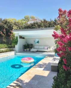 Comfy Pool Decoration Ideas For Your Backyard To Have 23