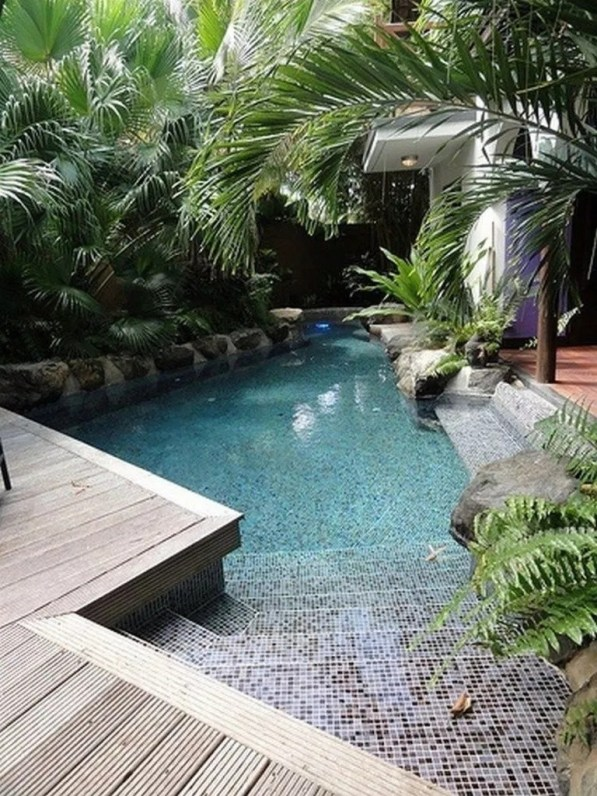 Cozy Backyard Swimming Pools Design Ideas To Copy Right Now 40